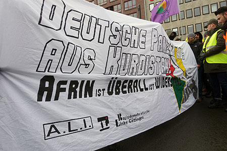 Newrozdemonstration in Hannover. | Foto: A. Bender