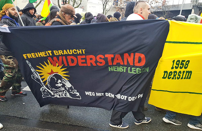 Berlin: Demonstration 1.12.2018